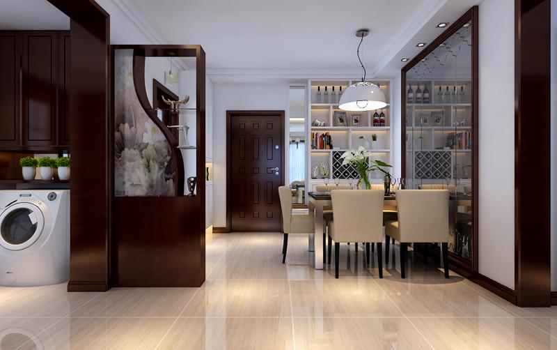 现代风格外形简洁、功能强,强调室内空间形态和物检的单一性、抽象性。