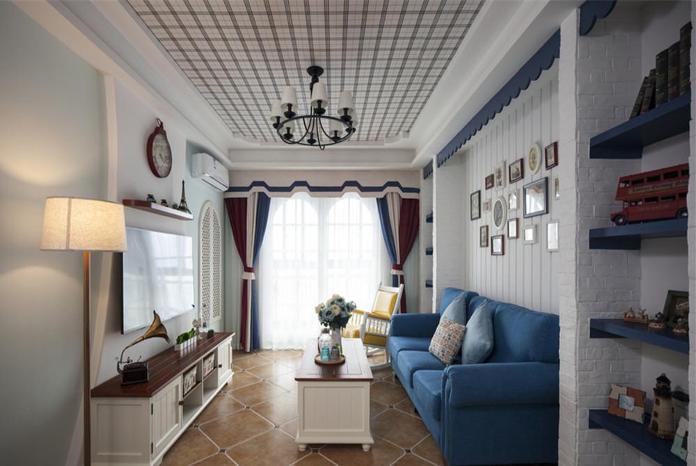 105平米三居室如何装修 地中海全包12万!-融创中心装修