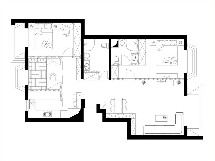 美式简约风格设计讲究简约大气、线条洗练。淡色系墙面、天花板、沙发与深色系的茶几,赋予空间平衡之美 ,摒弃一切烦琐和奢华,去掉零碎的空间划分,去掉堆砌的颜色和摆设,去掉繁复设计的家具,但整个空间看起来,却又简而不凡。13519684534