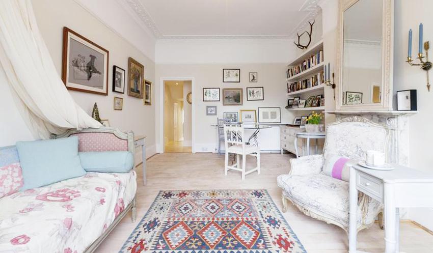 细腻亲和感 90平浪漫法式乡村风公寓