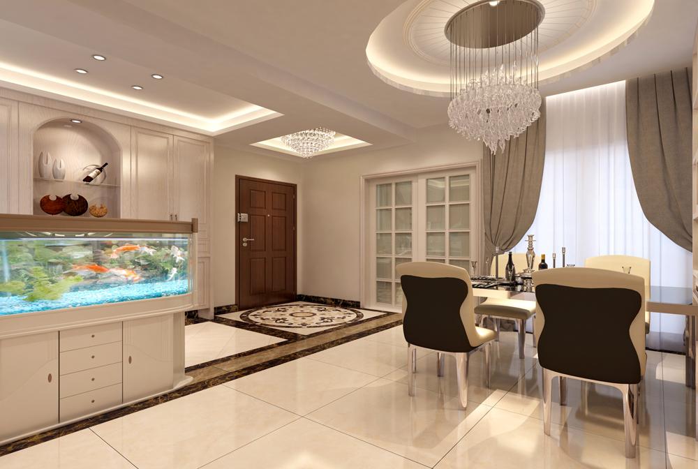 140平米四居室如何装修 现代简约半包15万!-合正荣悦装修