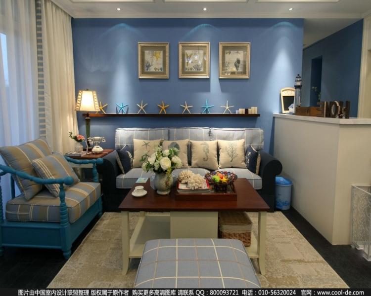 5万块钱装修的110平米的房子,地中海风格简直太美了!-泰禾中央广场装修