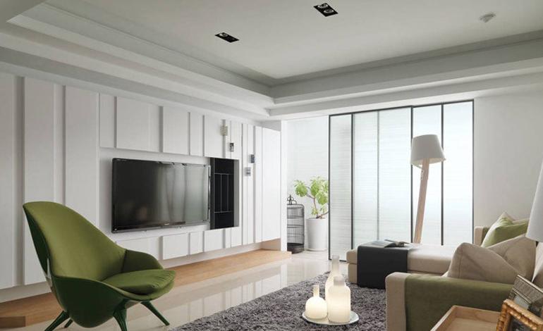 13万装修出81.18平米二居室现代简约风格,看过的人都点赞!-新鸥鹏教育城装修