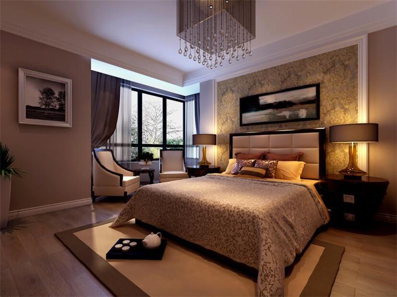 135平米三居室如何装修 现代简约半包6万!-信地·华地城装修