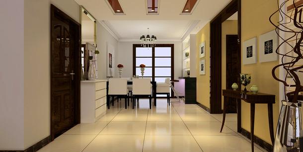 三居现代风格餐厅吊顶装修效果图-现代风格吧台椅