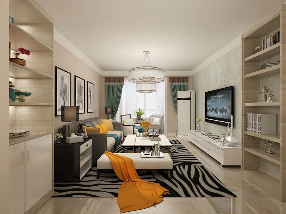 现代简约风格起源于20世纪初期的西方现代主义,现代简约的特色将设计的元素、色彩、照明、原材料简化到最少的程度,但对色彩、材料的质感要求很高。