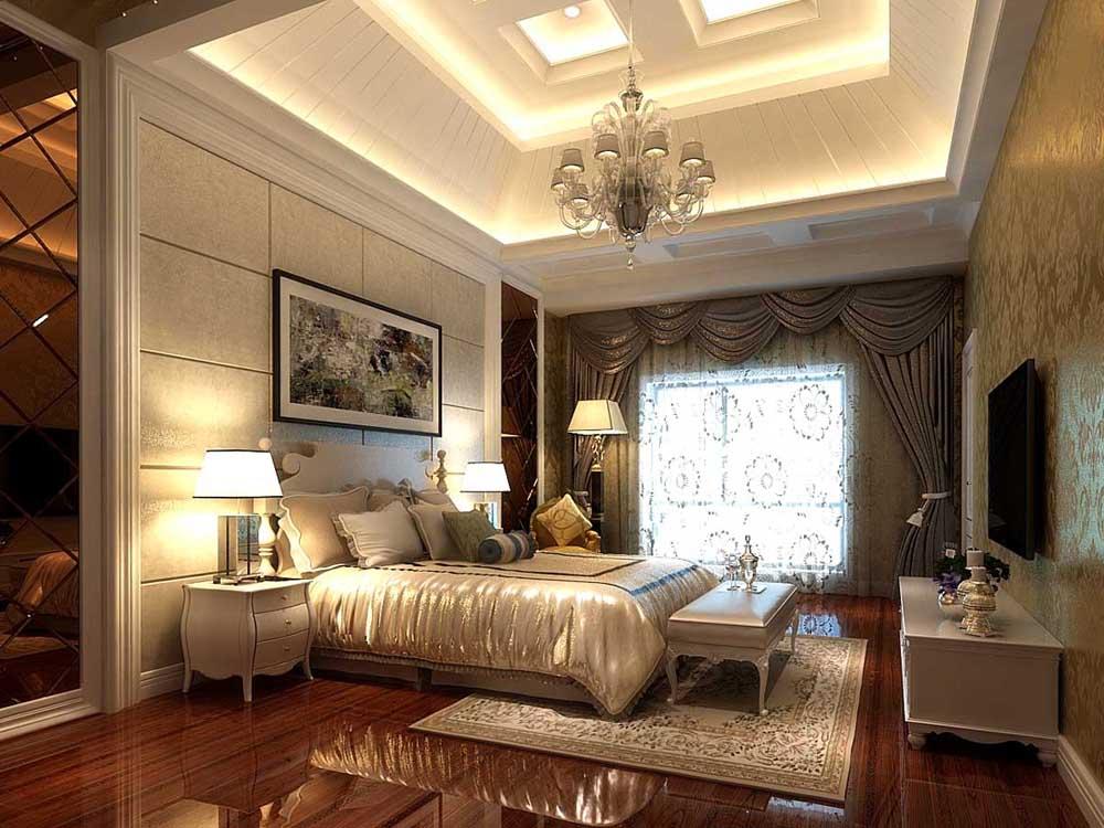 """简约欧式以营造典雅、自然、高贵的气质、浪漫的情调为主题。简约、质朴的设计风格是众多人群所喜爱的,生活在繁杂多变的世界里已是烦扰不休,而简单、自然的生活空间却能让人身心舒畅,感到宁静和安逸;藉着室内空间的解构和重组,便可以满足我们对悠然自得的生活的向往和追求,让我们在纷扰的现实生活中找到平衡,缔造出一个令人心弛神往的写意空间。简欧风格继承了传统欧式风格的装饰特点,吸取了其风格的""""形神""""特征,在设计上追求空间变化的连续性和形体变化的层次感,室内多采用带有图案的壁纸、地毯、窗帘、床罩、帐幔及古典装饰画,体现华丽的风格。家具门窗多漆为白色,画框的线条部位装饰为线条或金边,在造型设计上既要突出凹凸感"""