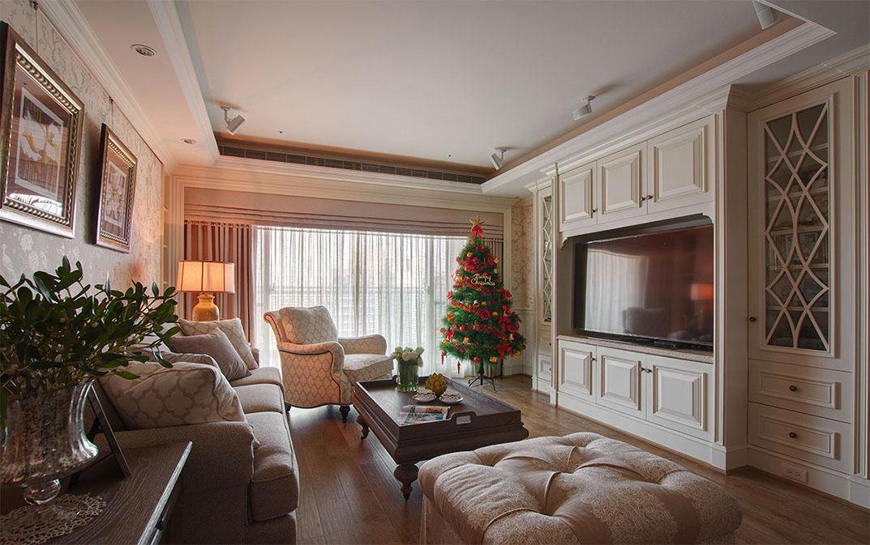 80平米二居室装修秘籍 西式古典半包7万!-卓兴澜庭装修