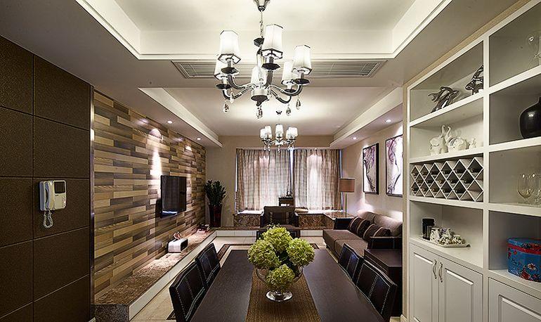 107平米三居室如何装修 现代简约半包4万!-天鹅湖花园·玺园装修