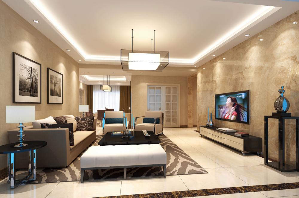 140平米四居室装修案例 现代简约半包15万!-塘朗城装修