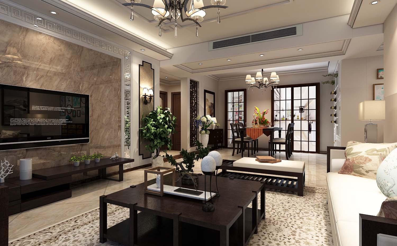 中国传统的室内设计融合了庄重与优雅双重气质。中式风格更多的利用了后现代手法,把传统的结构形式通过重新设计组合以另一种民族特色的标志符号出现。例如,厅里摆一套明清式的红木家具,墙上挂一幅中国山水画等。