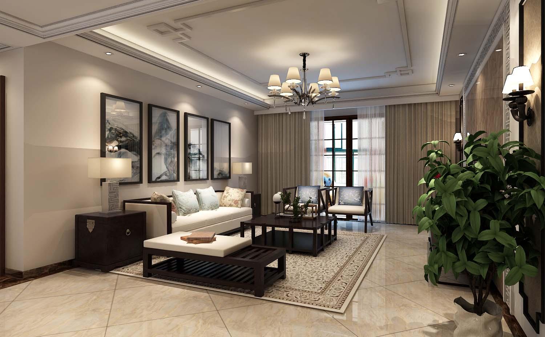 现代中式风格更多地利用了后现代手法,墙上挂一幅中国山水画等传统的书房里自然少不了书柜、书案以及文房四宝。 中式风格的客厅具有内蕴的风格,为了舒服,中式的环境中也常常用到沙发,但颜色仍然体现着中式的古朴,中式风格这种表现使整个空间,传统中透着现代,现代中揉着古典。