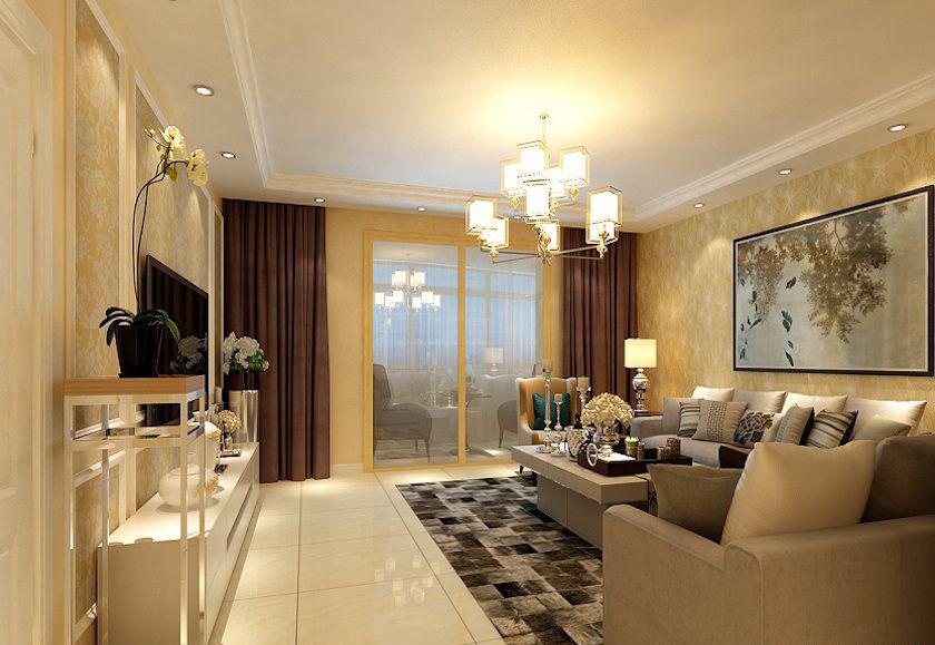 120平米三居室热门案例 现代简约全包15万!-龙兴园北区装修