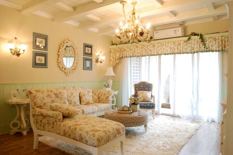 15万块钱装修的131.03平米的房子,田园风格简直太美了!-恒大金阳新世界装修