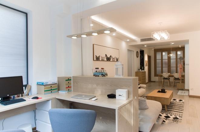 79平米的房子装修只花了4万,欧美风情风格让人眼前一亮!-廊坊孔雀城大学里装修