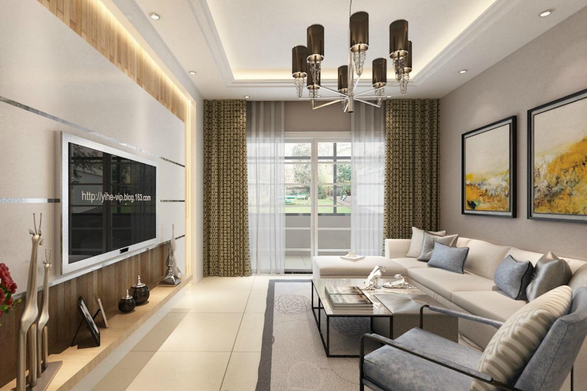 现代简约风格二居室如何装修,80平米的房子这样装才阔气!-金帆北苑装修