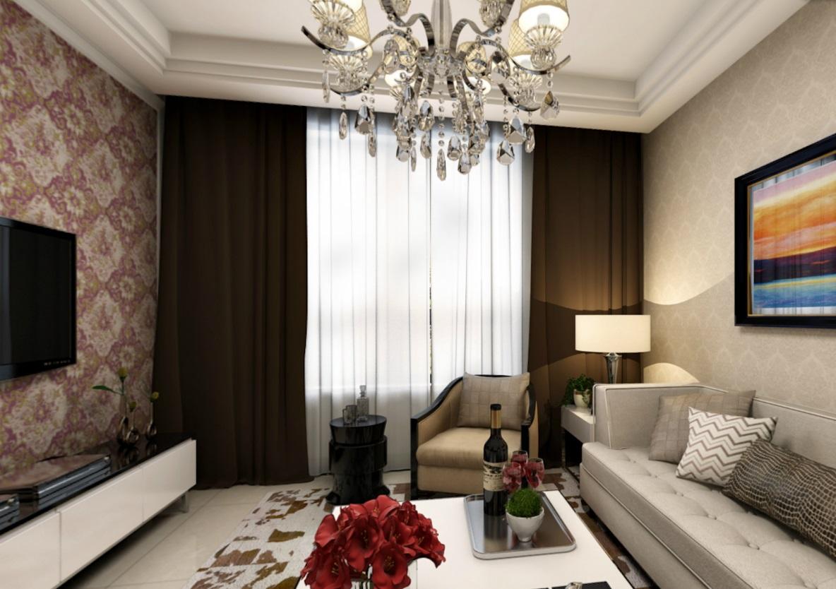 80平米二居室如何装修 现代简约全包9万!-金帆北苑装修