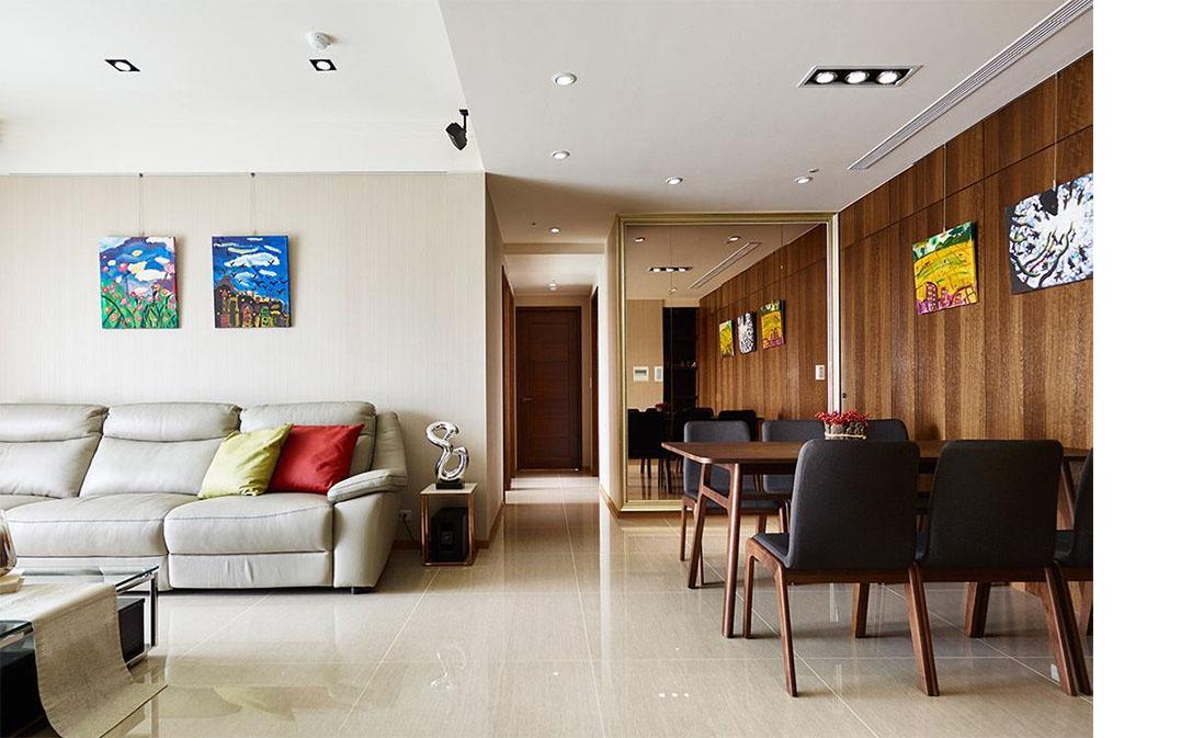89平米的房子装修只花了8万,混搭风格让人眼前一亮!-恒基旭辉水漾花城装修