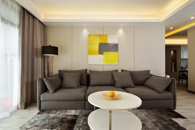 现代简约风格三居室装修攻略,95平米的房子这样装才阔气!-万科南方公元装修