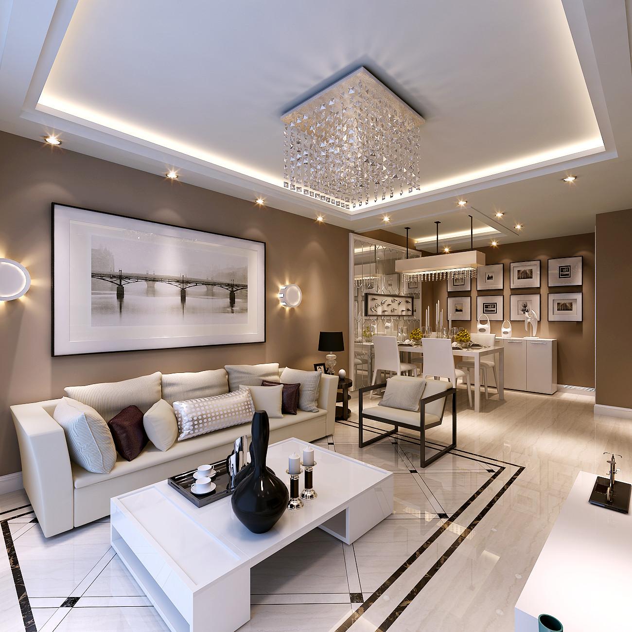 90平米的房这样装修好看100倍,现代简约风格惊艳众人!-首开国风美唐装修