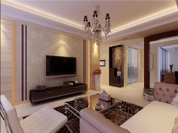 103平米的现代简约风格,原来三居室还可以这样装修!-信地华地城装修