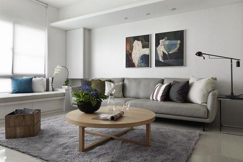 89平米二居室装修案例 现代简约全包8万!-创鸿水韵尚都装修