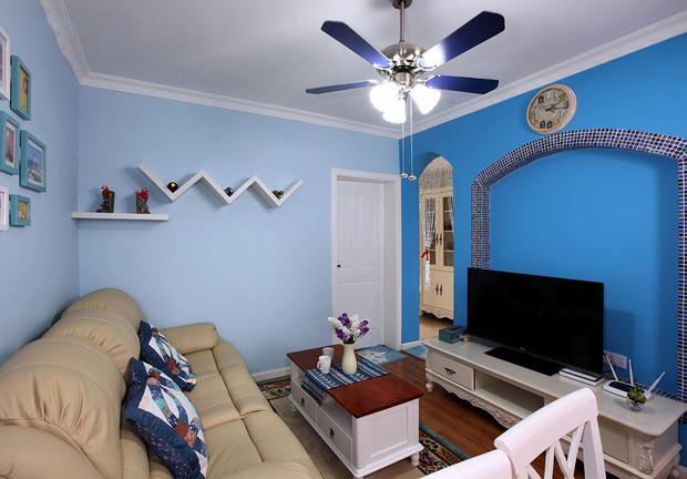 我家装修的84平米地中海风格,全包花了10万元,值不值?-华润紫云府装修