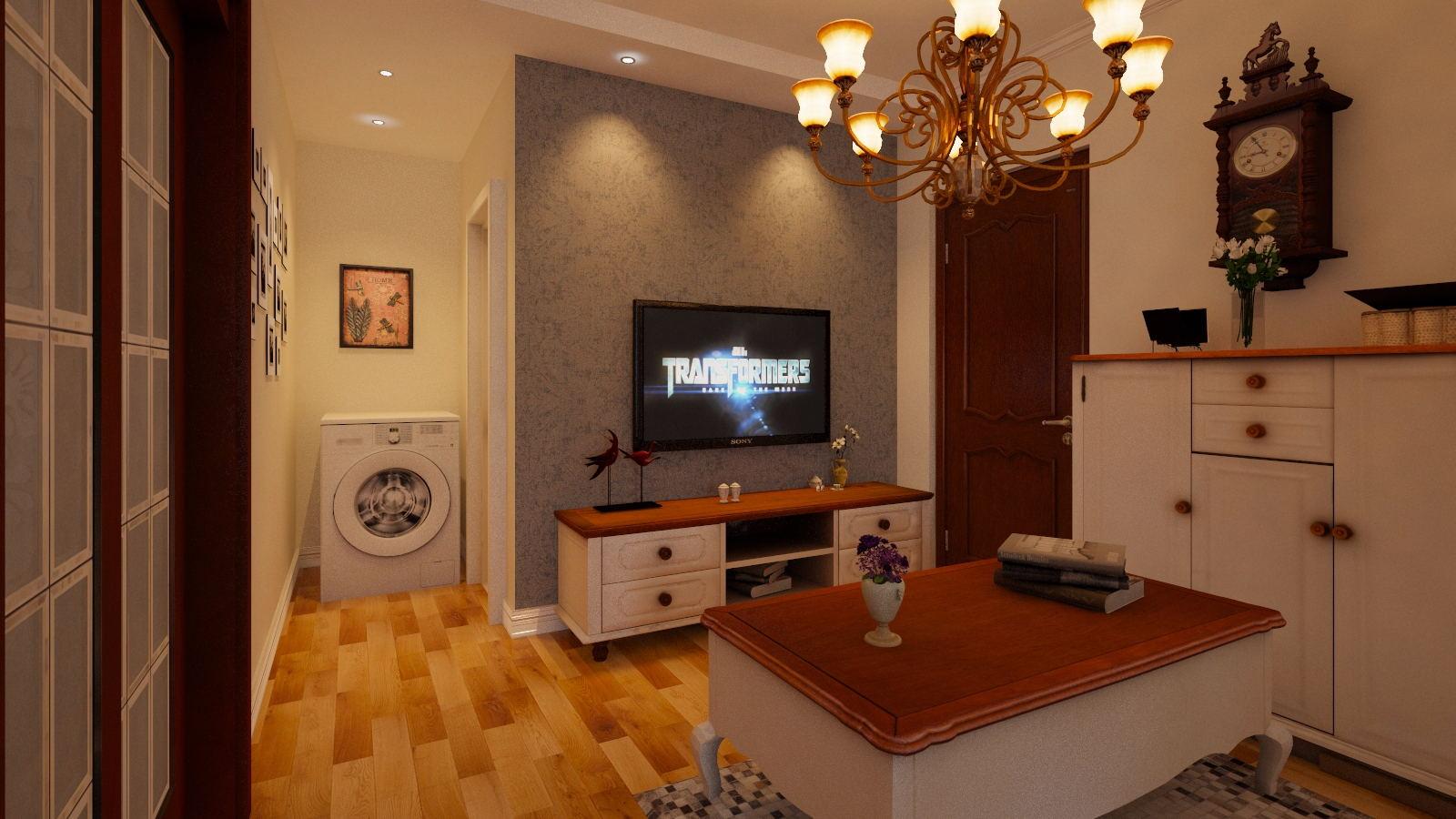 44.32平米的房子这样装修面积大了1倍,装修只花4万元!-欧园北欧印象装修