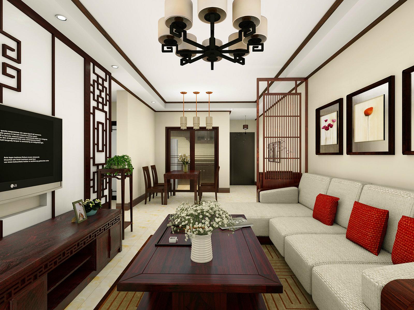 婆婆把103平米的房装修成这种中式古典风格,一进门就看呆了!-海伦堡·海伦春天装修