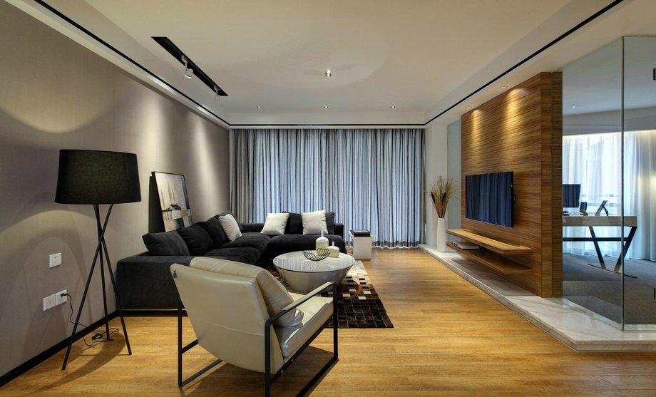 160平米的房这样装修好看100倍,现代简约风格惊艳众人!-合肥万达文化旅游城装修