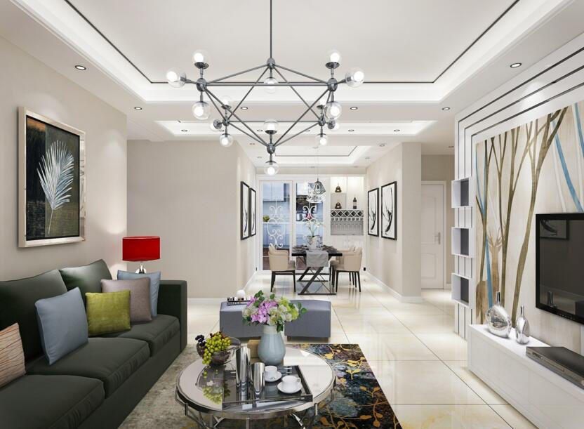 我家装修的117平米现代简约风格,全包花了7万元,值不值?-泰宏建业国际城装修