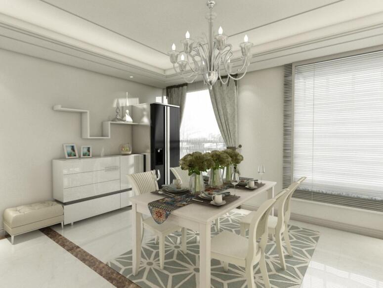 100平米的房子这样装修面积大了1倍,装修只花7万元!-珠江山水城装修