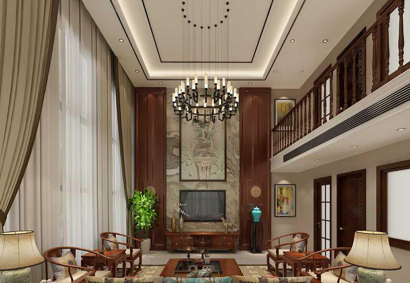 中式风格别墅装修秘籍,260平米的房子这样装才阔气!-鸿坤理想城装修