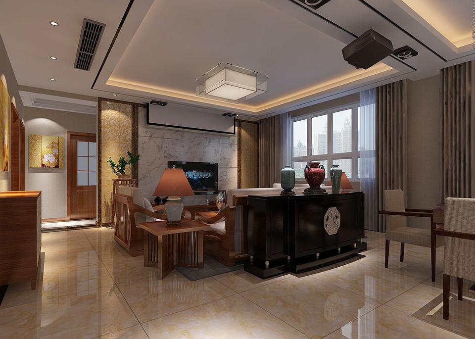 97平米的现代简约风格,原来三居室还可以这样装修!-萝岗奥园广场装修