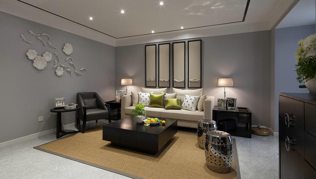 118.42平米现代风格三居室,预算15万,点击看效果图!-良辰美景装修