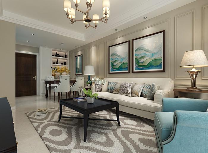90后教你如何用9万元装修出83.59平米的房子!-富力天朗明居装修
