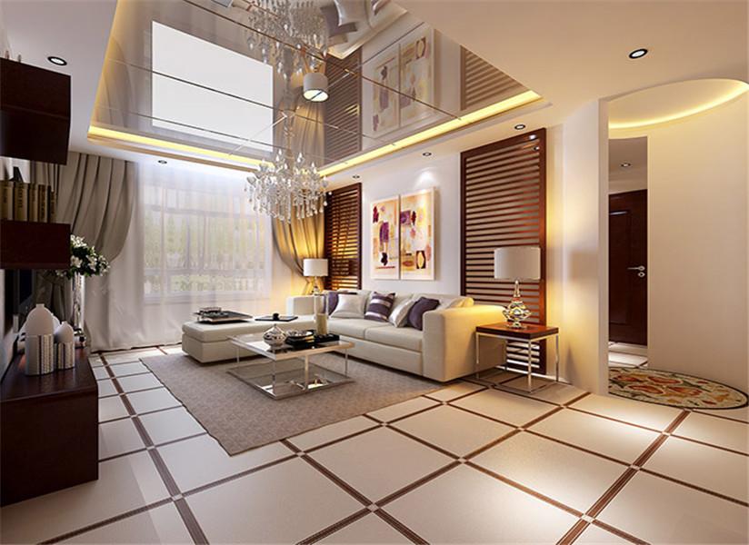 现代简约风格三居室装修秘籍,100平米的房子这样装才阔气!-东恒时代一期装修