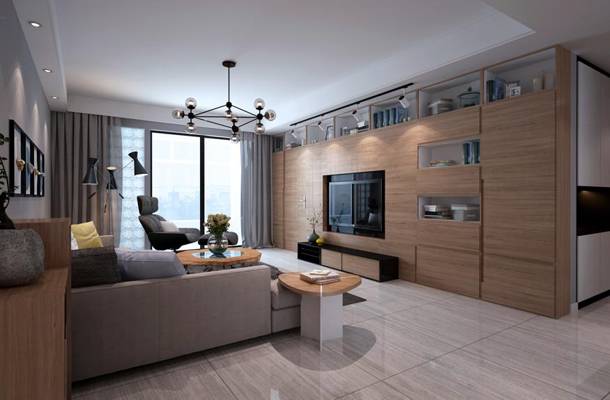 141平米的房子装修只花了10万,现代简约风格让人眼前一亮!-高新绿城玉兰花园装修