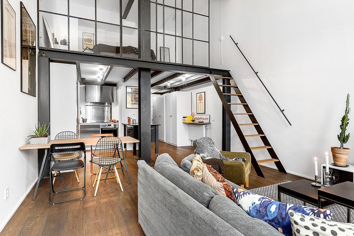 气质白色空间 61平现代时尚loft公寓