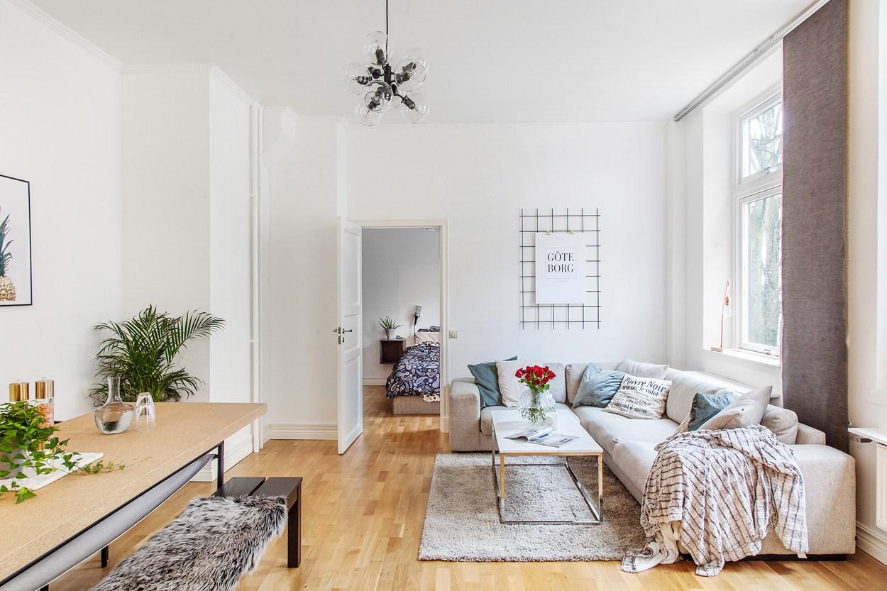 简约优雅气质 68平北欧风舒适公寓