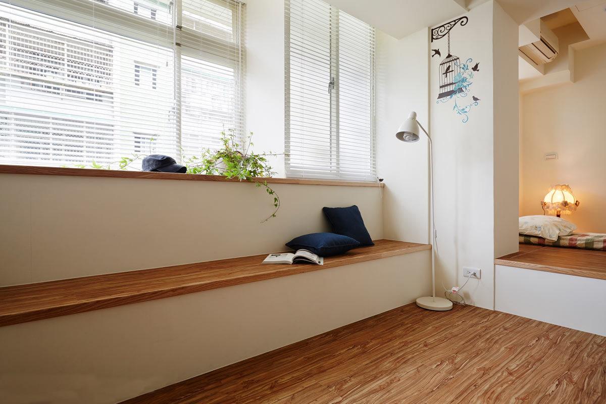 55平暖心日式小宅 清新通透空间