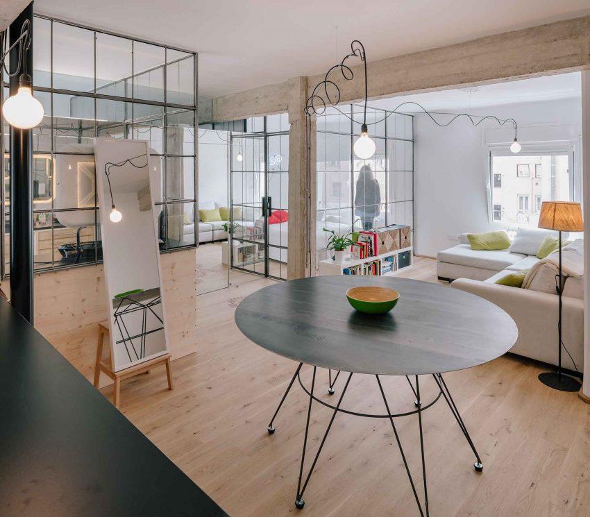 怀旧工业质感 53平个性单身公寓改造