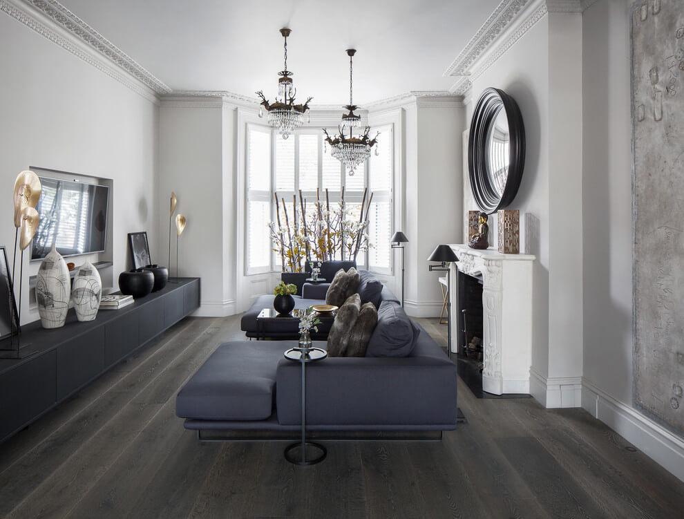 优雅与野性并存 180平新古典精致美宅