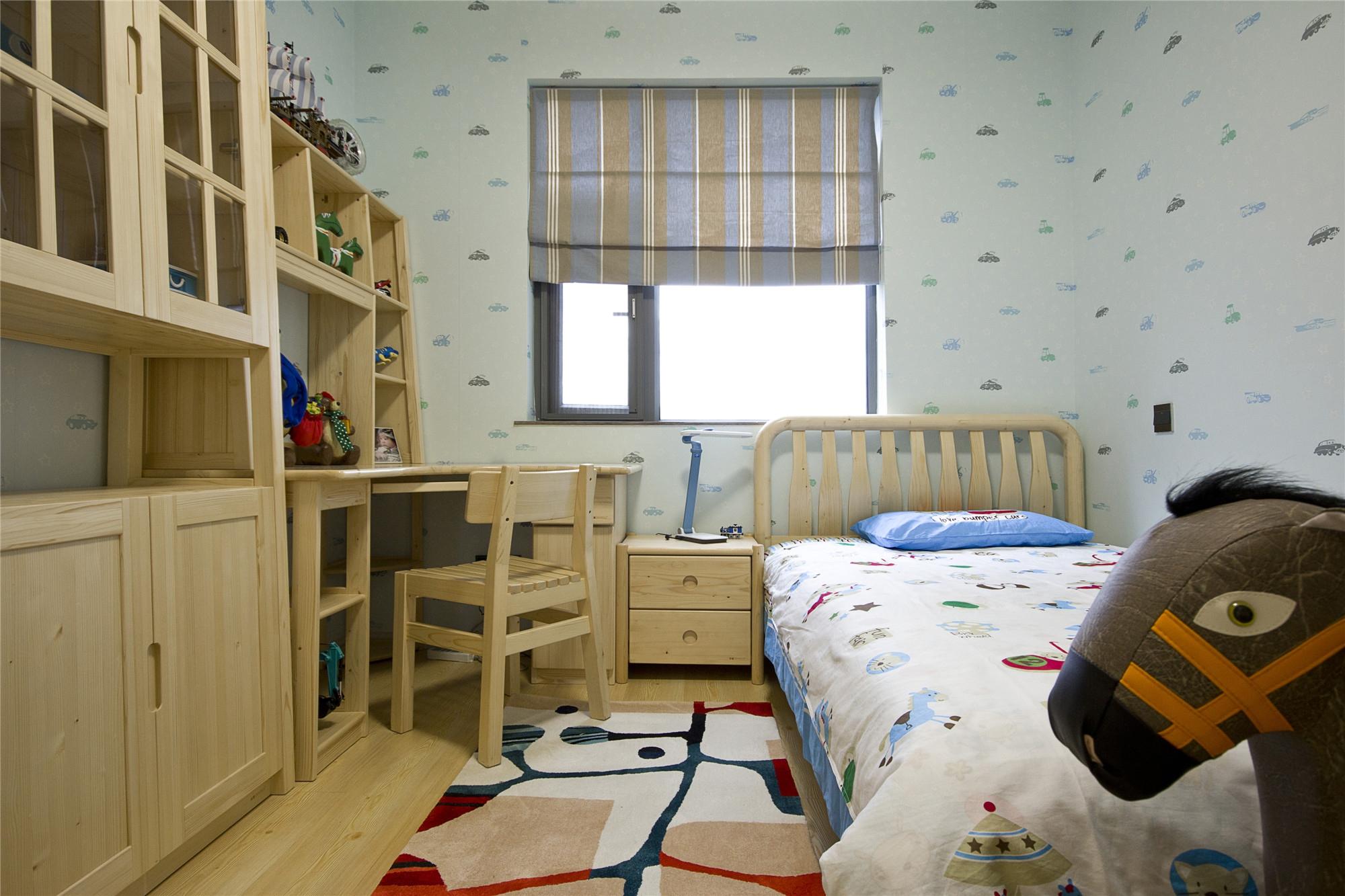 现代简约翡翠绿洲98方三居室全包9万