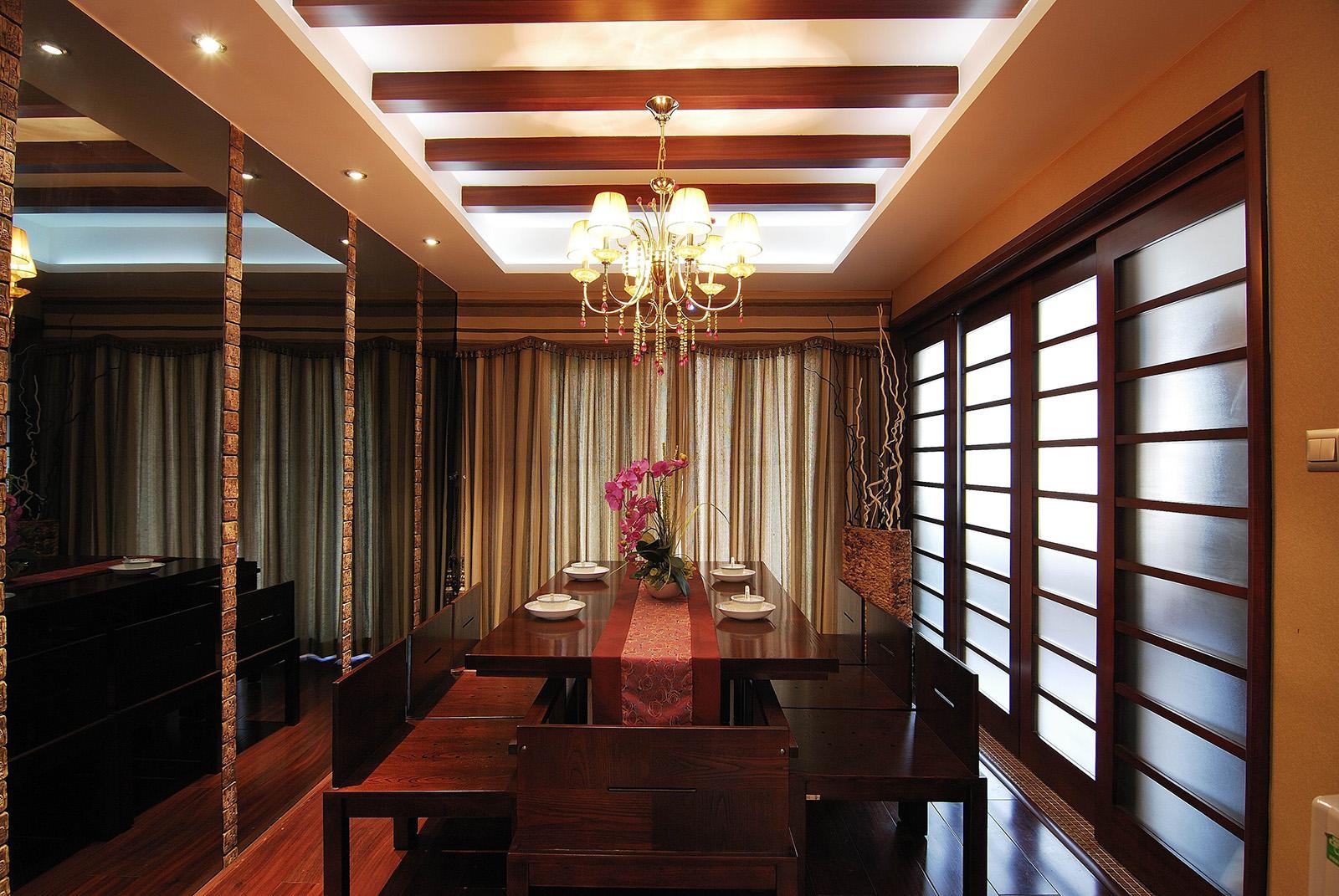 新中式广州亚运城三居室全包10万
