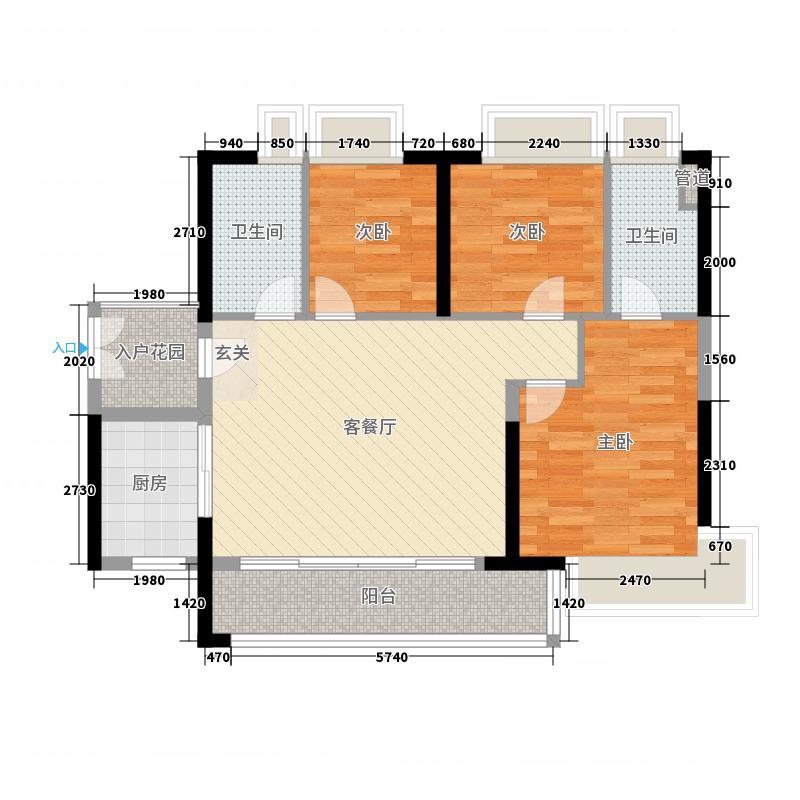 現代簡約金融街融穗御府三居室92方預算9萬
