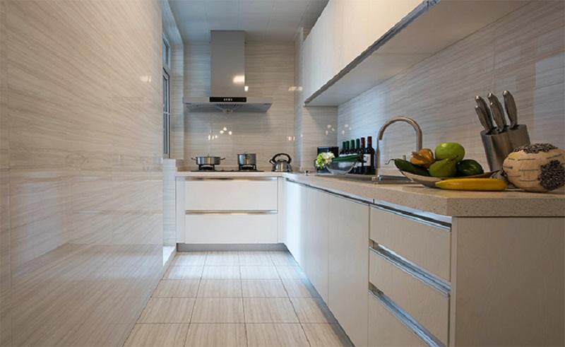 厨房 L型厨房,功能性极强,很好地满足日常使用需要。
