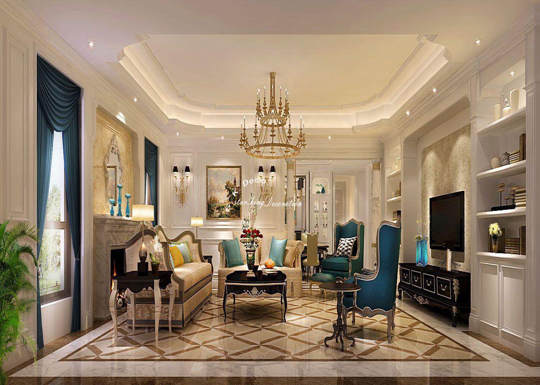 将自己喜欢的一切融入装修之中,就产生了混搭这一概念,混搭不仅仅是一种装修,更是一种实现实现个性化装修的手段,它适用于任何风格,别样的混搭设计,展现出了家居的百变风情。此款设计中将欧式与美式的设计同时融入其中,奢华感从中流露,款式新颖的吊灯在其中最为显眼,各种家具的搭配给人完美的视觉盛宴,打造出了经典居家空间。