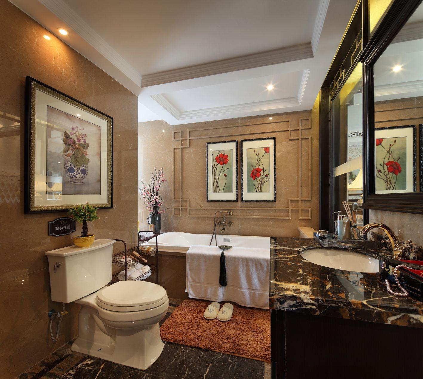 设计理念:作为一种中式装修风格与其它西方、东南亚等装修风格也有很大不同,首先所营造的文化氛围是不同的,每一种装修风格都有其特定的文化背景作为支撑,以此来传递特定文化氛围中人们的生活追求,那么新中式古典主义风格是以中国传统古典文化作为背景的,营造的是极富中国浪漫情调的生活空间,红木、青花瓷、紫砂茶壶以及一些红木工艺品等都体现了浓郁的东方之美,这正是新中式古典主义风格与其它风格所不同的地方。?
