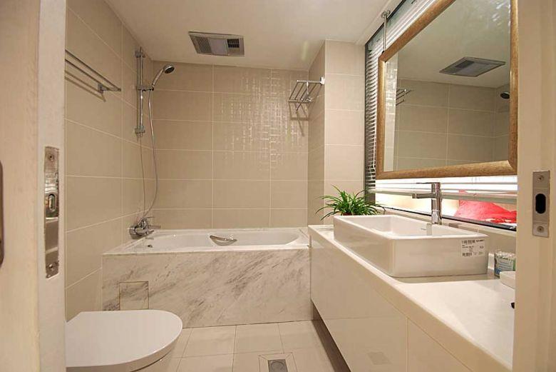 现代简约四居室装修效果图107平米15万现代简约四居室装修案例大全 图片